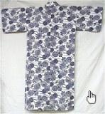 Nemaki pour femme (doublure gaze) fait au Japon - peignoir de bain, pyjama ou robe de chambre de style japonais