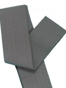 Men's grey belt