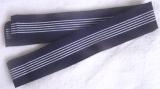 Men's navy blue belt