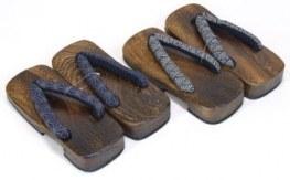 Geta Homme - bois brun - taille L 26cm