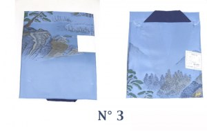 Nagajuban H bleu L N°3