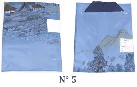 Nagajuban H bleu M N°5